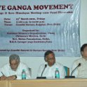 Advocate Shri M.C Mehta, Supreme Court; Dr. Vijay Bhatkar, Eminent Scientist; Dr. K.J Nath , NGRBA at Gandhi Darsan, 12th March 2010