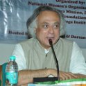 Shri Jairam Ramesh addressing the SGM meeting at Gandhi Darsan, New Delhi on 12th March 2010