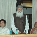 Prof. G.D Agarwal addressing the SGM meeting at Dandhi Darsan, New Delhi on 12th March 2010